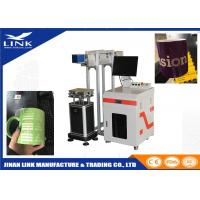 Buy cheap CO2 laser marking machine with metal tube cnc marking machine for nonemtal from Wholesalers