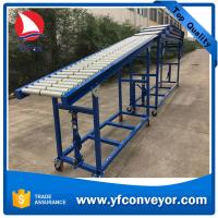 Buy cheap Gravity Telescopic Roller Conveyor for Unloading Containers from wholesalers