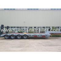 Buy cheap 80T 4 Axle Low Bed Semi-Trailer from wholesalers