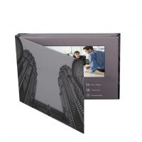 Buy cheap Latest video marketing solution 7 inch LCD video book/LCD video mailer brochure with 1300G hard back from wholesalers