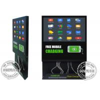 Buy cheap 22inch Fast Speed Mobile Phone Charging Station, Android Wifi Digital Signage Cloud Server Remote Control from wholesalers