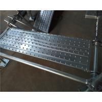 Buy cheap Custom Steel Scaffold Planks Walk Planks Scaffolding ASNZS Standard product