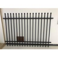 Buy cheap Aluminium or steel tubes then Akzo Nobel powder coated Diplomat Tubular Fencing Panels from wholesalers