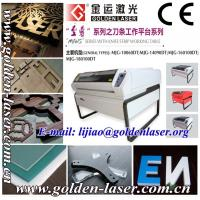 Buy cheap 1mm to 10mm Veneer Wood Laser Cutter Machine MJGSH-13090DT from wholesalers