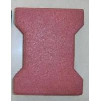 Buy cheap Sports dogbone interlocking rubber pavers / keystone rubber crumb flooring from wholesalers