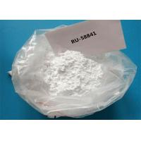 Buy cheap Pharmaceutical Inhibitors Powder RU-58841 For Treatment Hair Loss from wholesalers