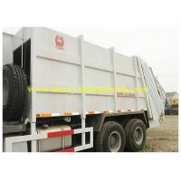 Buy cheap Compression garbage truck  with Vacuum pump 371 hp , Sinotruk Rubbish Bin Truck from wholesalers