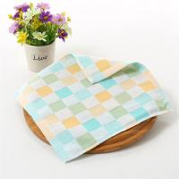 Buy cheap Fancy Jacquard Velour Cotton Baby Washcloths , Disposable Reusable Baby Wipes from wholesalers