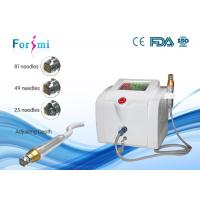 Buy cheap Precise energy delievry fractional rf microneedle microneedling machine from wholesalers
