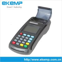 Buy cheap Bank card POS,POS terminal with secure pin pad, POS machine supports GPRS(N8110) from wholesalers