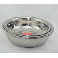 Buy cheap 38CM good quality stainless steel wash basin from wholesalers