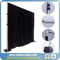 Buy cheap Church Portable Decoration Backdrop Stand Pipe and Drape Compatible System from Wholesalers
