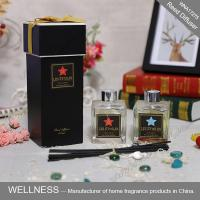 Buy cheap Luxury Home Reed Diffuser 80ml 100ml 150ml With Clear Liquid Bottle product