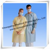 Buy cheap Spunbonded Disposable Isolation Gowns PP/ PP W PE / SMS Material from wholesalers