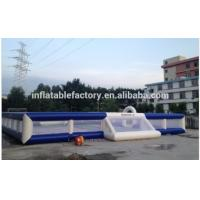 China inflatable football field for sale on sale