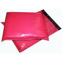 Buy cheap Red 14'' X 6.5'' Printed Heavy Duty Plastic Polythene Mailing Bags Biodegradable from wholesalers