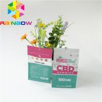 China Aluminum Foil Plastic Pouches Packaging Smell Proof Zipper Top CBD Herbal Incense Pack on sale