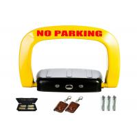 Buy cheap Yellow black anti crash car space lock ≤ 1mA STANDBY CURRENT from wholesalers