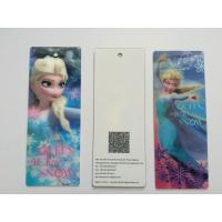Buy cheap 3D Lenticular Personalised Bookmarks For Schools , Bookmark Printing Services from wholesalers