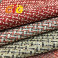 Buy cheap Colorful Furniture Upholstery Material Shrink Resistant 180-270g/Sqm Weight product