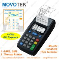 Buy cheap Movotek Prepaid Electricity Vending Machine GPRS POS Terminal from wholesalers