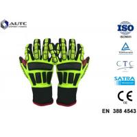 Buy cheap Rescue PPE Safety Gloves , Metal Safety Gloves TPR Material Wear Resistant product