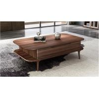 Buy cheap 2017 New Walnut Wood Case Good Furniture Design Living room Coffee table& Tea from wholesalers