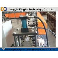 Buy cheap 380V / 50Hz / 3 Phase Safety Door Frame Roll Forming Machine For Construction from wholesalers