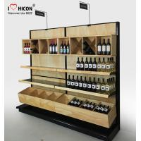 Buy cheap Commercial Wine Display Racks And Liquor Shelving For Wine Stores / Shops from wholesalers