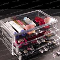 Buy cheap CB (32) 3 drawers acrylic makeup organizer from wholesalers