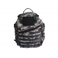 Buy cheap Easily Carry Military Camo School Backpack , Double Stitched Camo Hiking Backpack from wholesalers
