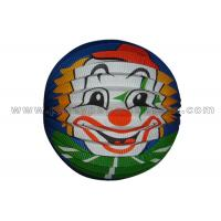 Buy cheap Clown Pattern Printed Paper Accordion Lanterns / Balls 20CM 25CM 33CM  Customized from wholesalers