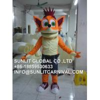 Buy cheap animal king mascot costume from wholesalers
