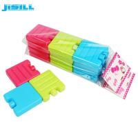 Buy cheap HDPE Hard Shell Mini Ice Packs / Plastic Freezer Ice Blocks For Lunch Bag from wholesalers