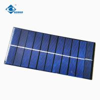 Buy cheap ZW-18081 Customized Mini Solar Panels 2W High Conversion Solar Cell Phone Charger 5.5V from wholesalers