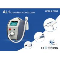 Buy cheap Dual Wavelength Q-Switched Nd Yag Laser Machine For Tattoo Removal CE Approved from wholesalers
