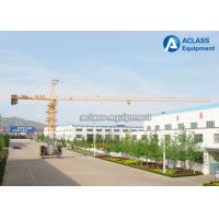 Buy cheap High Efficiency 6 Tons Base Travelling Tower Crane With Ballast Type Foundation from wholesalers