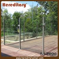 Buy cheap Semi Frameless Glass Pool Fencing with Round Post Aluminium (SJ-F020) from wholesalers
