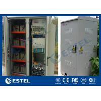 Buy cheap IP45 ATS UPS Base Station Cabinet , Roadside Cabinets With AC Air conditioning from wholesalers