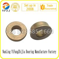 Buy cheap Professional factory manufacture oilless bearing supplier bronze bushing,copper based powder metallurgy from wholesalers