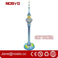 Buy cheap Sky tower children novelty toys 3d puzzle building diy assembly toys for kids from wholesalers
