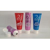 Buy cheap 150G Large Orifice Aluminum Barrier Laminated Tubes , Facial Cleaner Cosmetic Tube Packaging from wholesalers