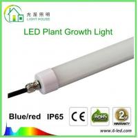 Buy cheap Hydroponic LED Tube Grow Lights T8 With Rotatable End Cap , 120 Degree Angle product