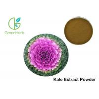 Buy cheap Kale Vegetable Extract Powder Brassica Oleracea Extract Brown Powder from wholesalers