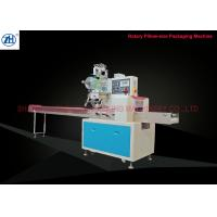 Buy cheap Electric Driven Horizontal Packaging Machine , Horizontal Pillow Packing Machine For Daily Snacks from wholesalers