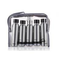 Buy cheap ODM Cosmetic Travel Bottle Set Aluminum Makeup Small Packaging Personal Care product