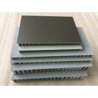 Buy cheap Black FEVE Aluminum Honeycomb Panels , Fireproof Honeycomb Structural Panels  product