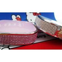 Buy cheap lovely crystal/jewellery/jewelry kitty power banks from wholesalers