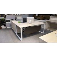 Buy cheap Popular Style Executive Desk With Side Table Modern Manager Desk Office Furniture from wholesalers