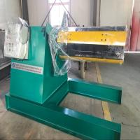 Buy cheap Metal Coil Detached Hydraulic Uncoiler Machine With Straightening Machine from wholesalers